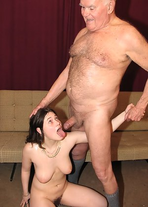 Free Old Man and Young Porn Photos
