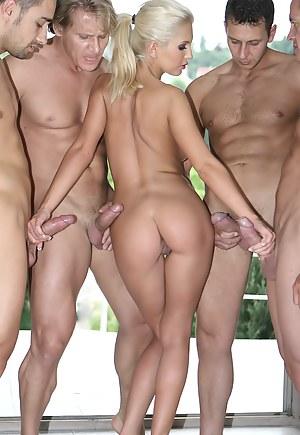 Free Gangbang Porn Photos